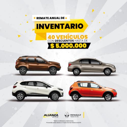 Promocion vehiculos renault