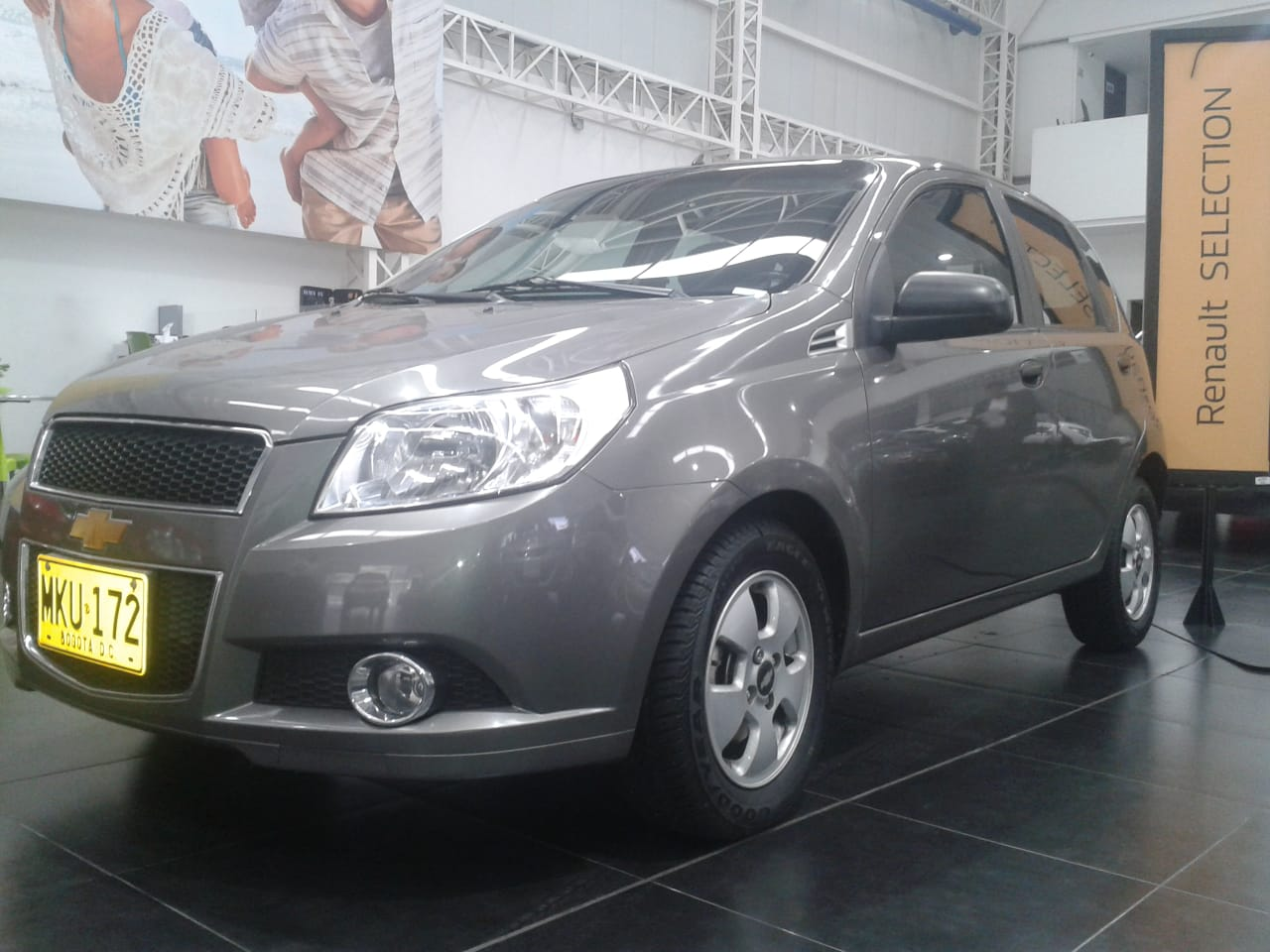 CHEVROLET AVEO EMOTION   MKU172