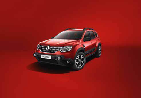 Rojo fuego Renault Duster