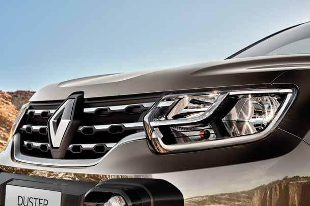 Parrilla frontal Renault Duster 2022