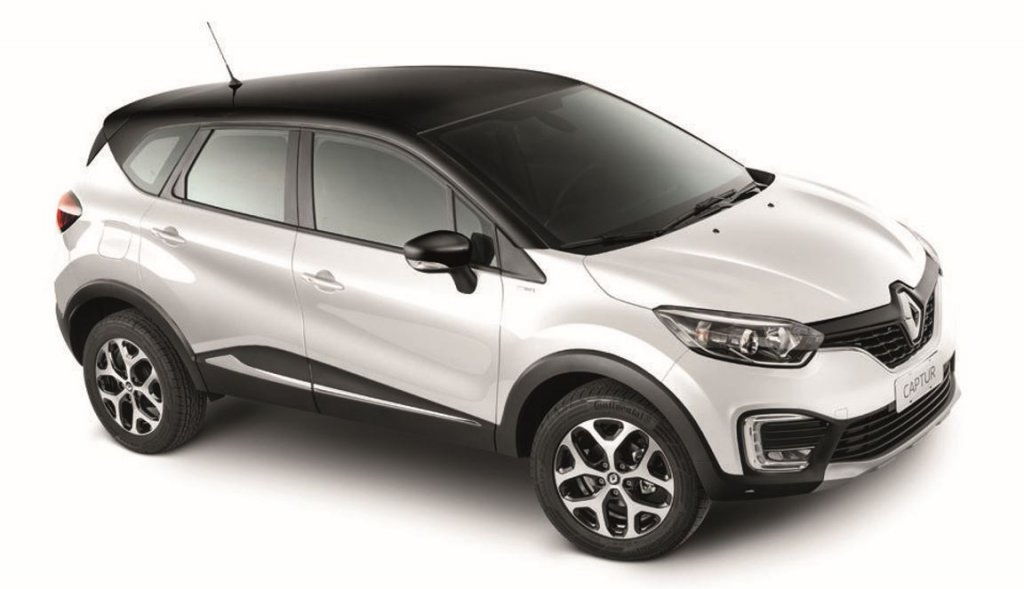 Blanco Glacial + Negro Nacarado, Renault Captur BOSE