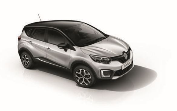 Gris Estrella Negro, Renault Captur Intens