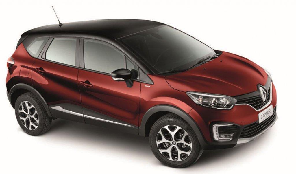 Rojo Fuego + Negro Nacarado, Renault Captur BOSE