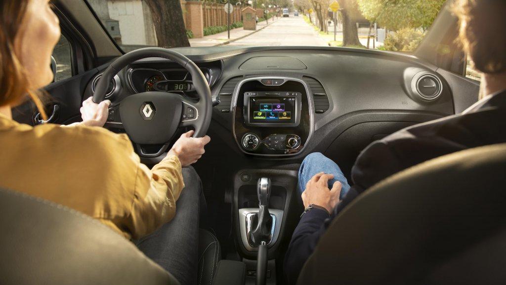 Interior vehículo Renault Captur Bose, Alianza Motor