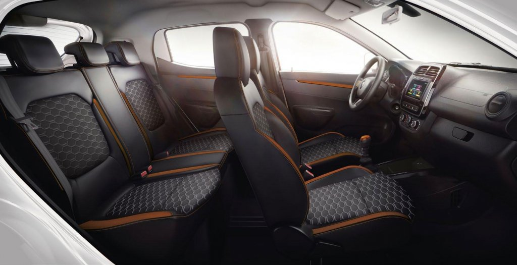 Renault Kwid espacio interior