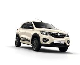 Renault Kwid, Blanco Marfil