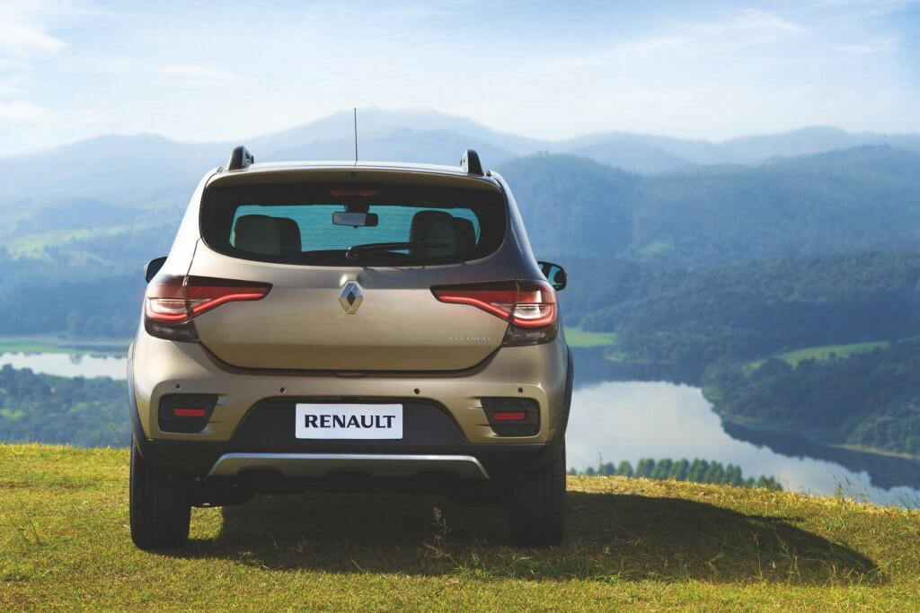 Parte trasera Renault Stepway